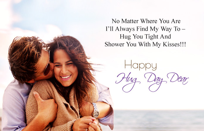 Hug Day Quotes for Girlfriend