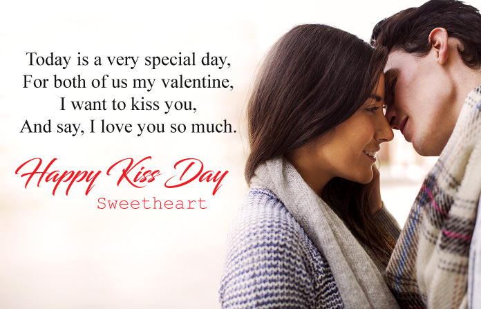 Kiss Day Wishes Messages