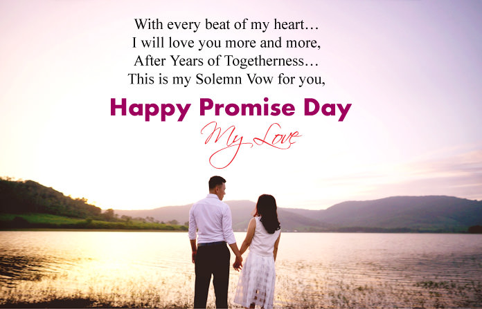Promise Day Images with Love Messages