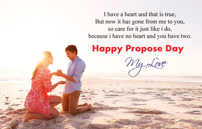 Propose Day Images with Quotes Wishes
