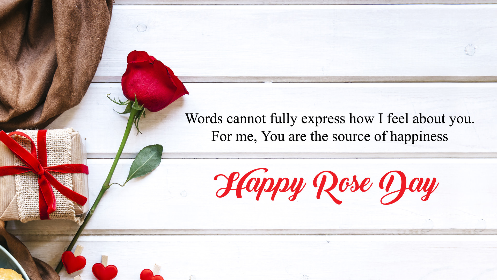 Rose Day Wallpaper Quotes 1920x1080