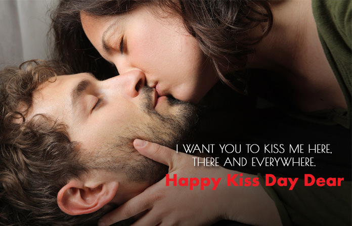 Seductive Kiss Day Images