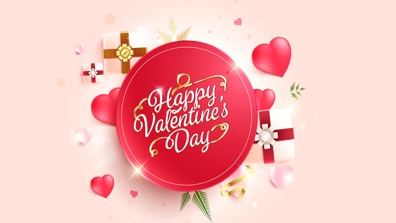 Showing Love Valentine HD Wallpaper