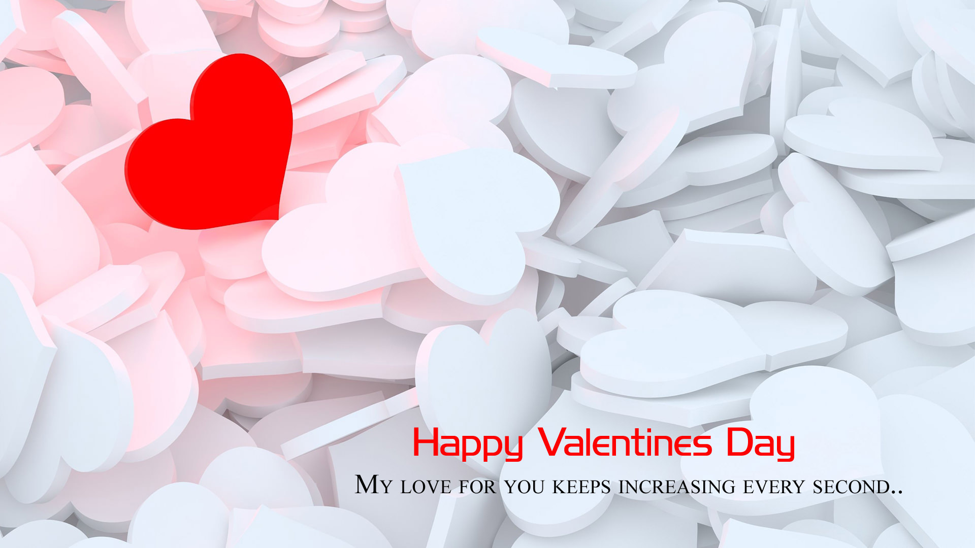 Special Valentine Day Wall Pics for BF GF