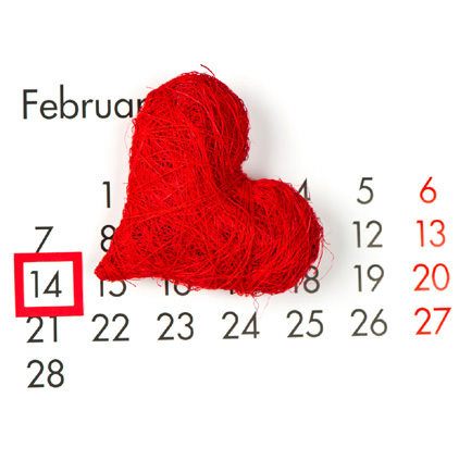 Valentine Love Calendar 14th February