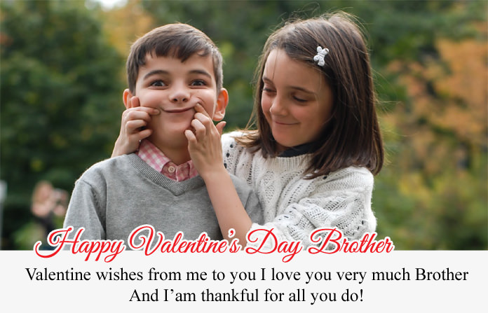 Valentines Day Quotes for Brother