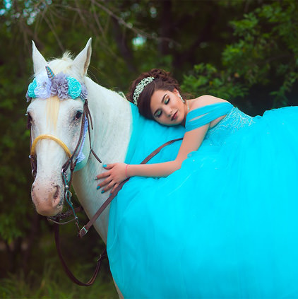 Lovely Horse Images with Girl
