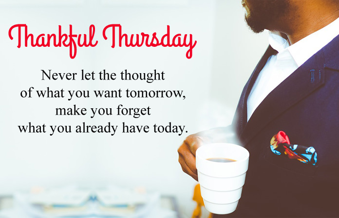 Thankful Happy Thursday Wishes