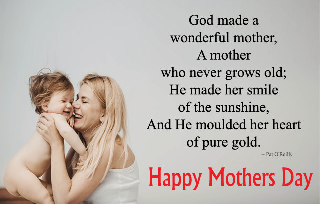 Cute Beautiful Mothers Day Sayings