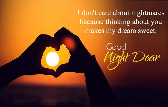 Romantic Good Night Images for Lover | GN Wishes Quotes for BF GF