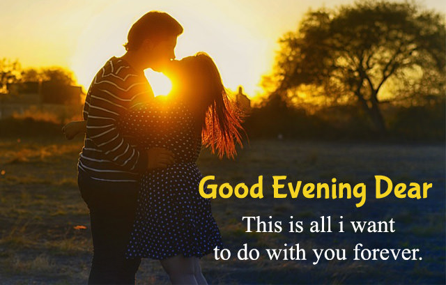 Good Evening Quotes for Lovers