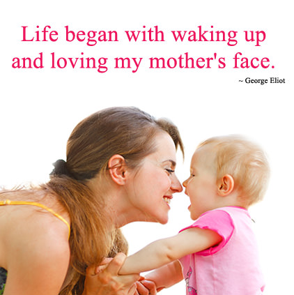 Mother Son Bonding Quote DP Images