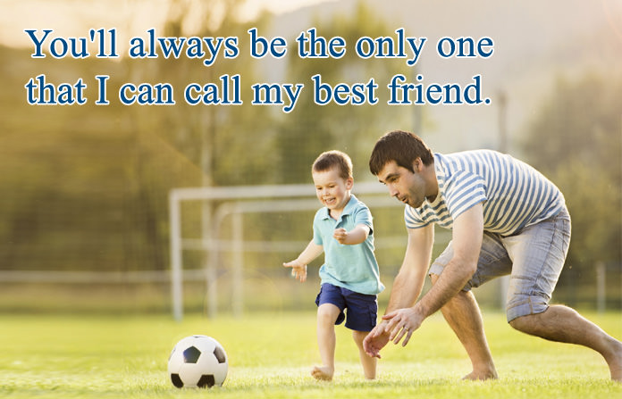 Dad Like Friend Quotes Pictures
