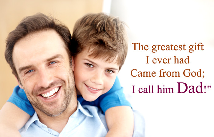 Dad Like God Quotes