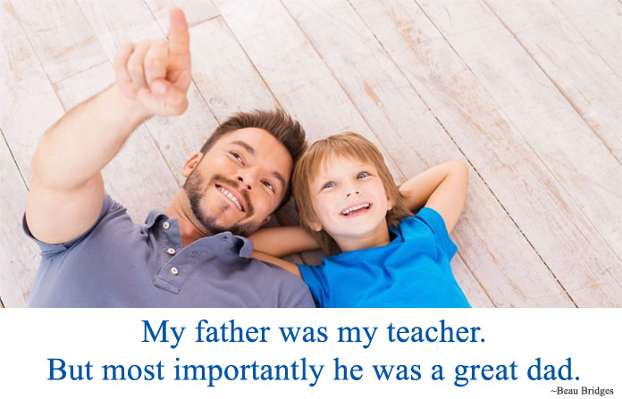 Fathers Day Quotes for Dad from Son