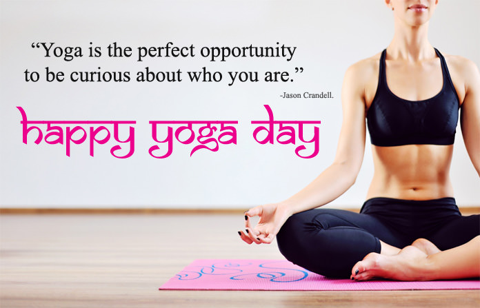 Happy Yoga Day Wishes Images