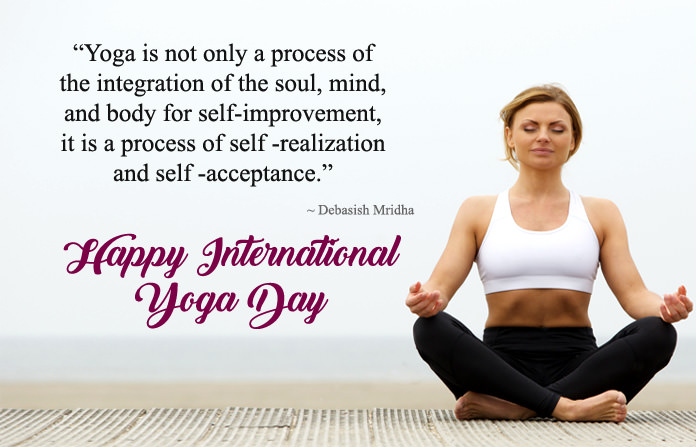 Happy Yoga Day Wishes Messages