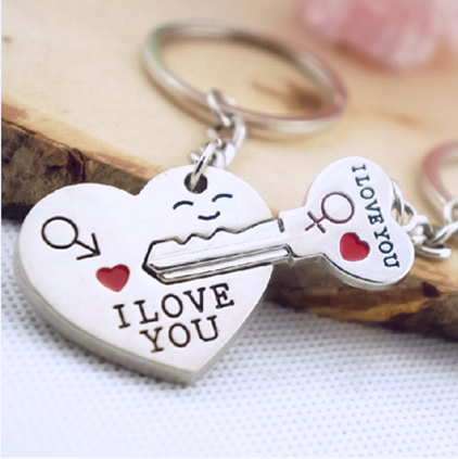 I Love You Keys for Couple