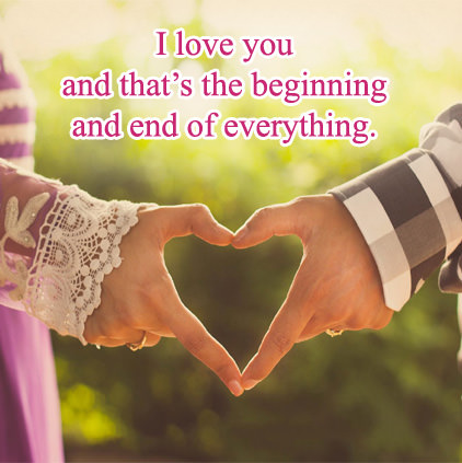 I Love You My Husband Message Profile Pictures