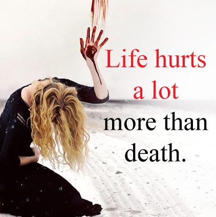 Life Hurts More than Death DP Images