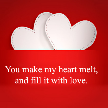 Love Heart Quotes DP for Wife