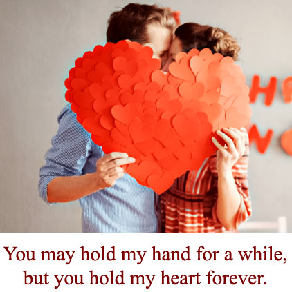 Romantic Whatsapp Dp For Husband Wife With Cute Love Status Message