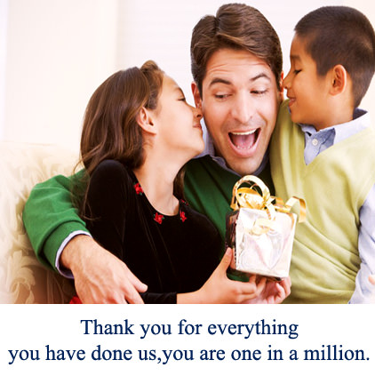 Thank You Quotes for Father From Kids
