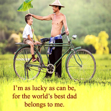 World's Best Dad DP Images for Greetings Card