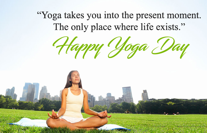 Yoga Day Wishes in English