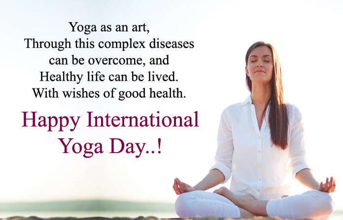 Best Yoga Messages In Hindi English Language Short Yoga Day Msg