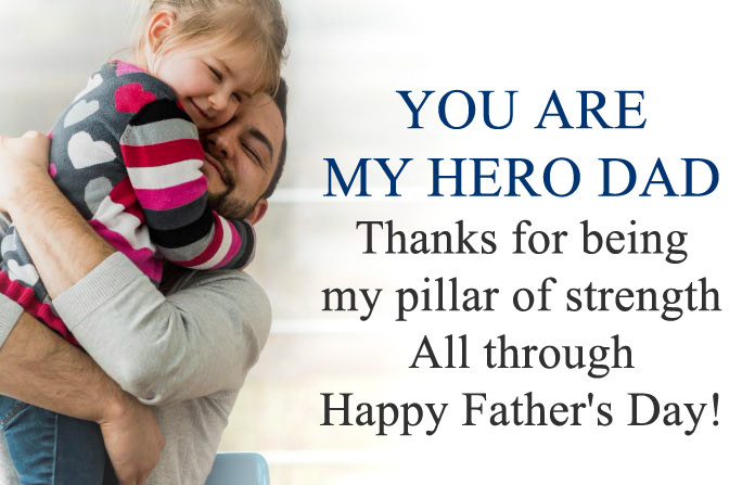 You Are My Hero Dad Images Quotes