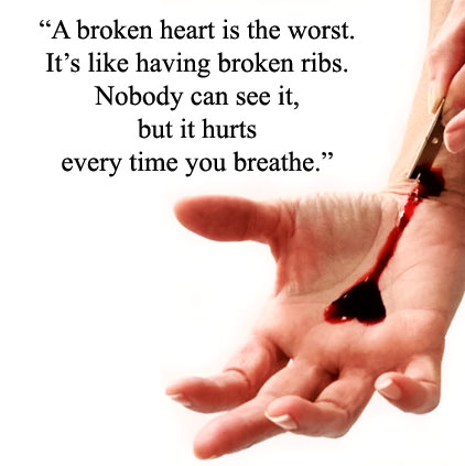 Broken Heart Images with Quotes Status