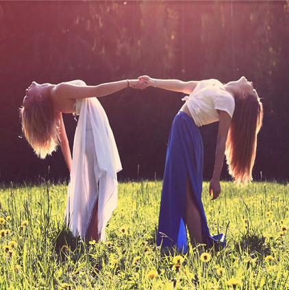 Friendship DP for Two Girls
