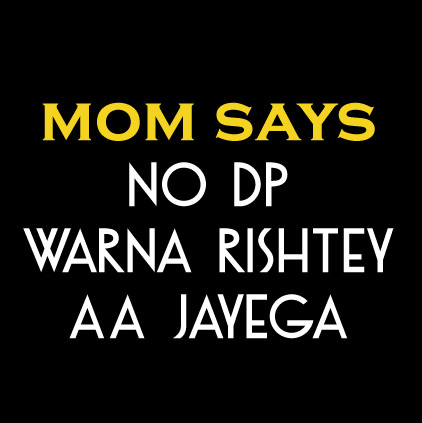 Funny MOM NO DP Images in Hindi