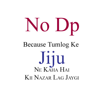 Funny NO DP in Hindi