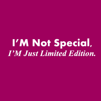 I Am Limited Edition DP