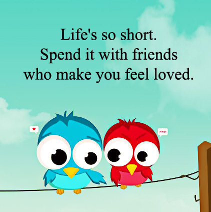 Inspirational Lines about Friends DP