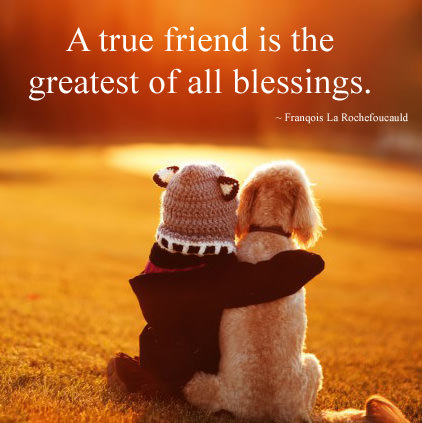 True Friendship Images with Quotes