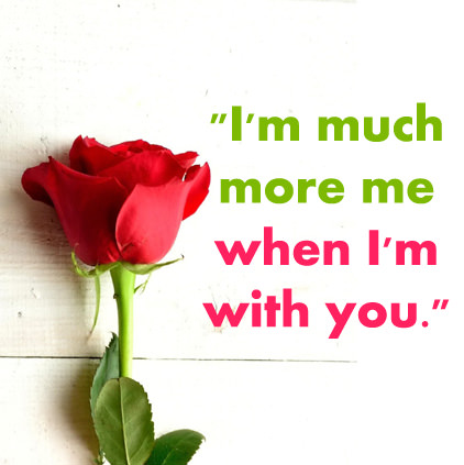 Whatsapp Love DP in English with Rose