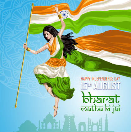 Bharat Mata DP for 15th August