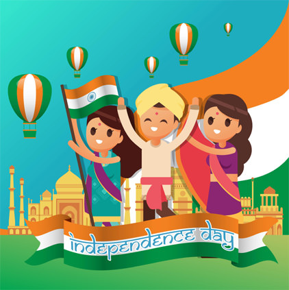Cute Funny Independence Day DP