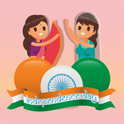 Cute Funny Independence Day Profile Picture