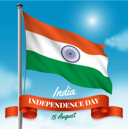 India Flag HD on Wishes for Independence Day