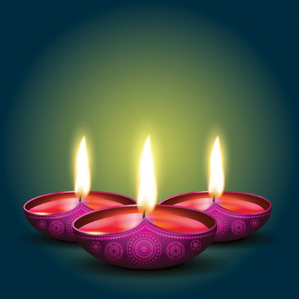 Diwali Diya DP for Whatsapp Profile