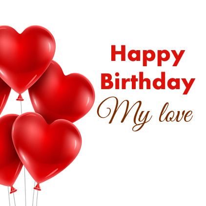 Happy Birthday Love Images for Whatsapp