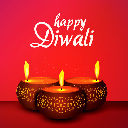 Happy Diwali Diya Whatsapp DP