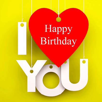 I Love You Birthday Images
