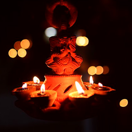 Religious Diya Pictures