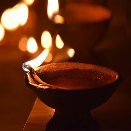 Diwali Diya Images, Happy Deepavali Flaming Lamp Pics, गिफ ...
