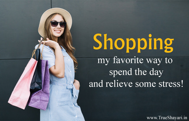 Shopping Quotes and Sayings